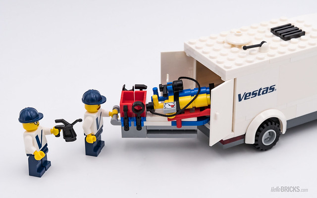REVIEW LEGO 10268 Vestas Wind Turbine