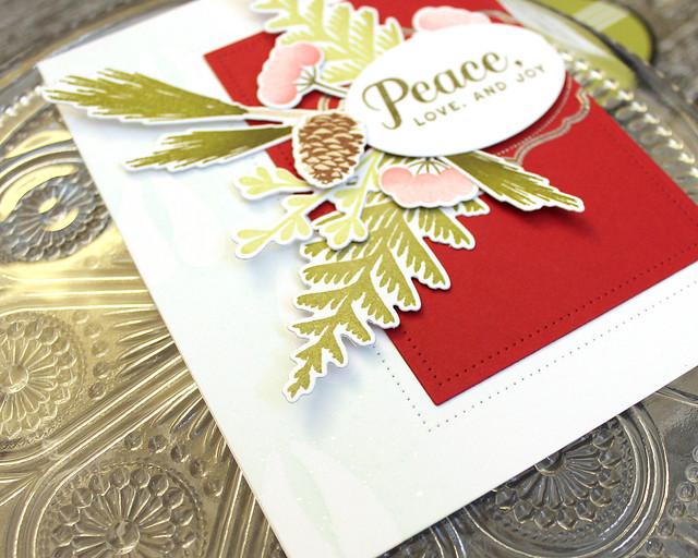 LizzieJones_PapertreyInk_November2018_ForestFloorWinter_PeaceLoveAndJoyCard3