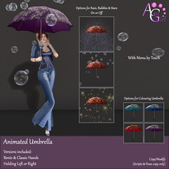AvaGirl - Animated Umbrella