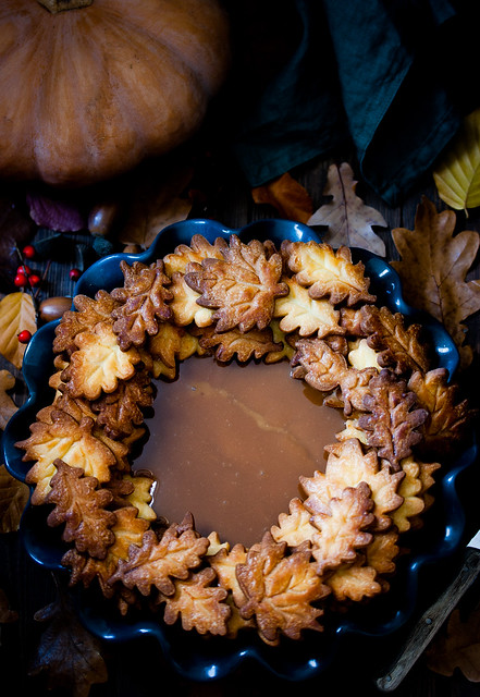 Pumpkin Caramel Pie