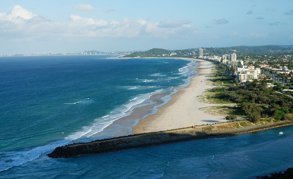 Burleigh Head National Park, Queensland, Australia