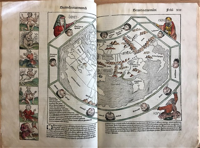 nuremberg chronicle map