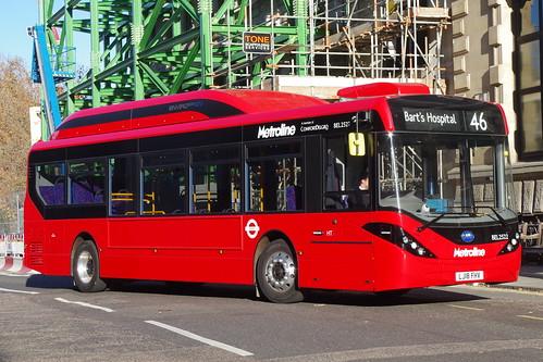 Metroline BEL2522