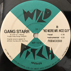GANG STARR:POSITIVITY(LABEL SIDE-B)