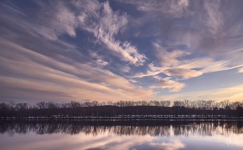 connecticutriver color colorful clouds cloudscape cloudy hatfield massachusetts newengland reflection reflectionphotography landscape landscapephotography
