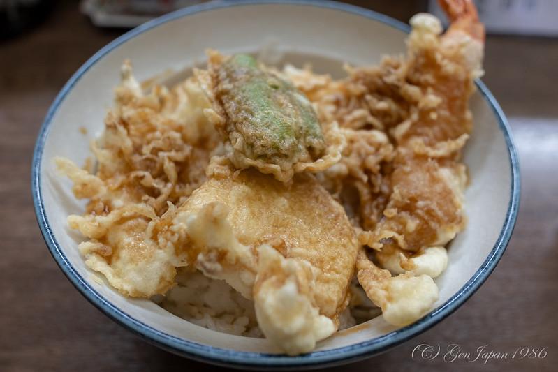 天ぷら水谷 天丼