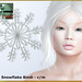 Bliensen - Frost - Snowflake Bindi
