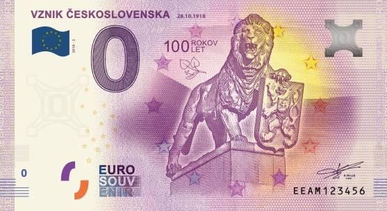0 euro 2018 Vznik Československa