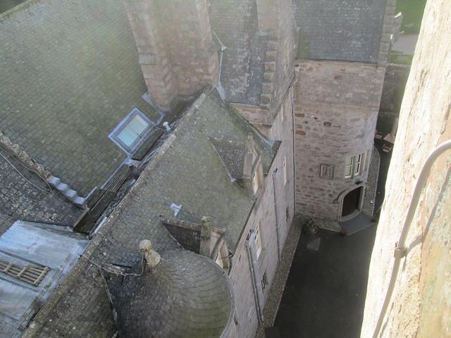 Drum Castle roof