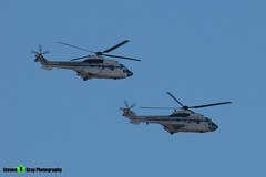 HT21A-4-402-23-&-HT27-01-402-24---2370-&-2621---Spanish-Air-Force---Eurocopter-AS-332M1-Super-Puma-&-AS-532UL-Cougar---Madrid---181008---Steven-Gray---IMG_2779-watermarked