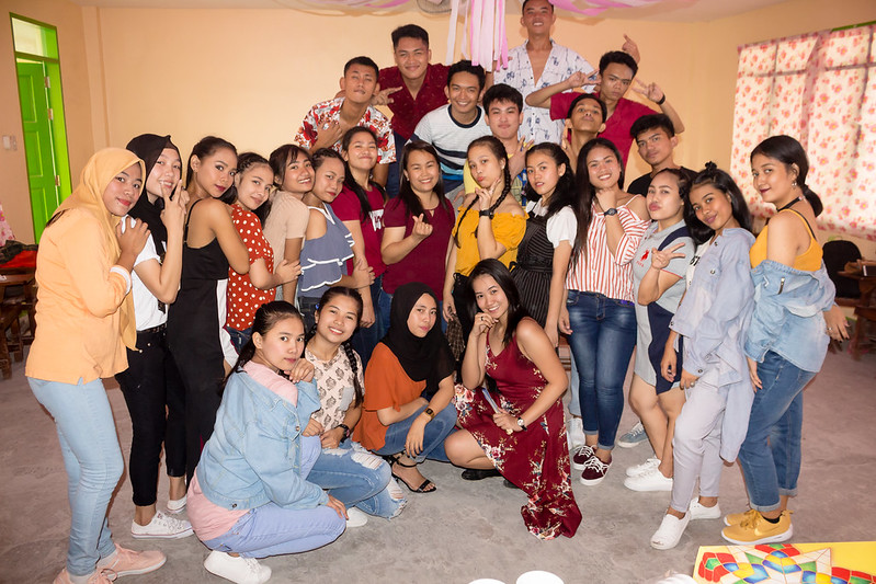 199 EDITS Group Pictures of Christmas Party 2018 at PNHS Baclaran