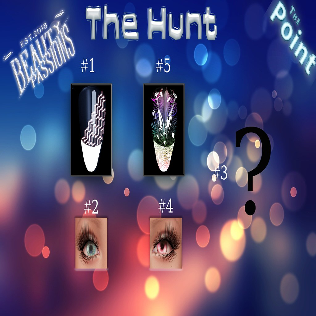 THE POINT HUNT*Item List*