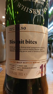 SMWS 55.50 - Biscuit bites