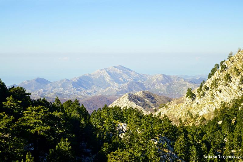 Пейзаж с Орьенского седла