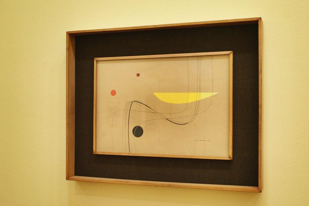 """""""Compasizione"""" (1936) de Luigi Veronesi - GAM, musée d'art moderne de Turin."""