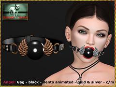 Bliensen - Angel - gag - black