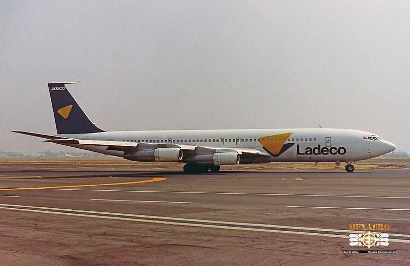 Ladeco / Boeing 707-327C / CC-CYA