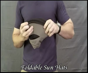 foldable hats