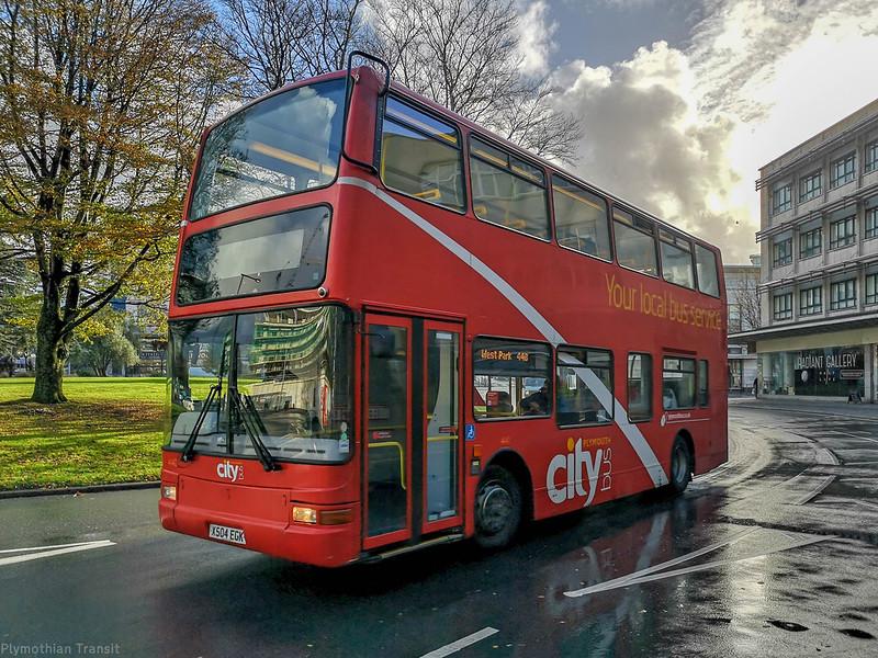 Plymouth Citybus 440 X504EGK