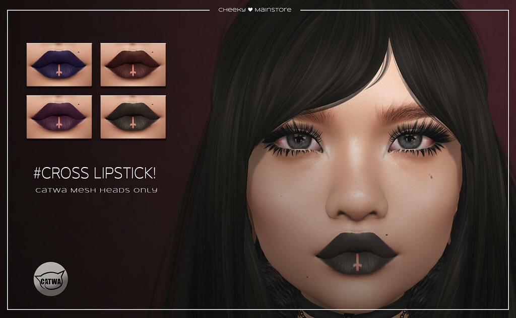 🎀 # Cross Lipstick! 🎀