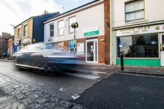Hedon Centre car blur