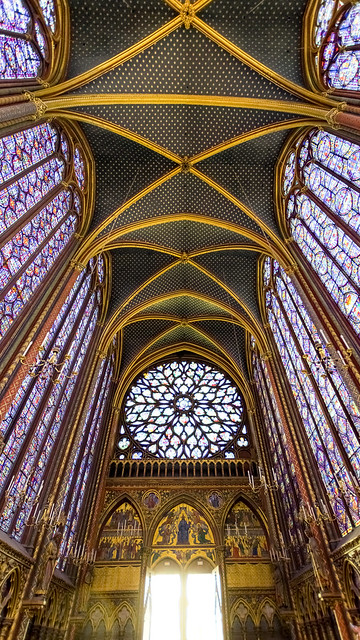 Sainte-Chapelle, Nikon D5300, Sigma 10-20mm F3.5 EX DC HSM