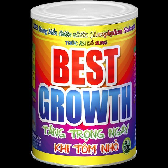 BEST GROWTH–CÔNG NGHỆ NGUYÊN LIỆU MỸ GIÚP CÁ, TÔM TĂNG TRỌNG