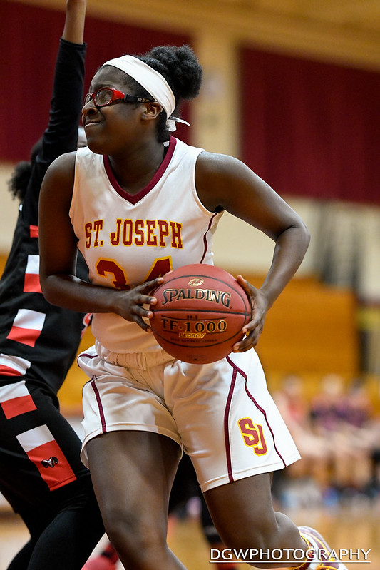 St. Joseph vs. Bridgeport Central - Girls High School Basketball