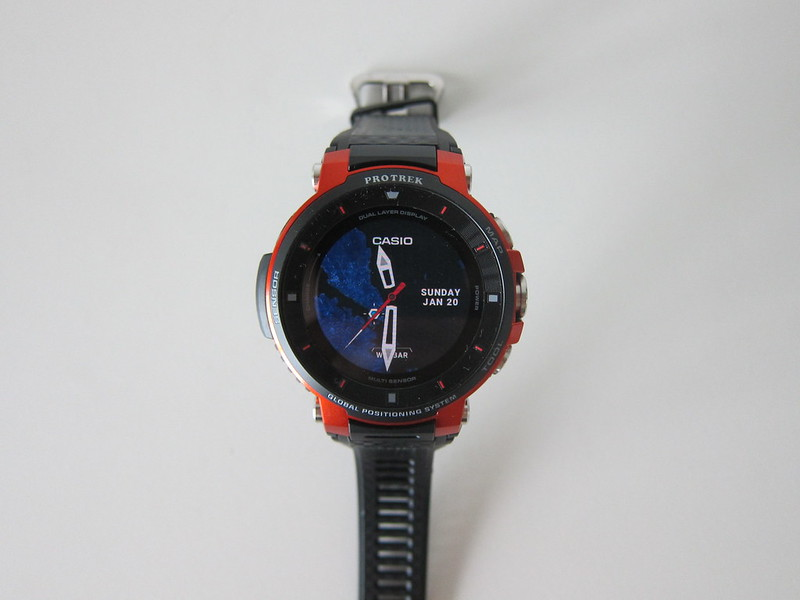 Casio WSD-F30 - Color Display