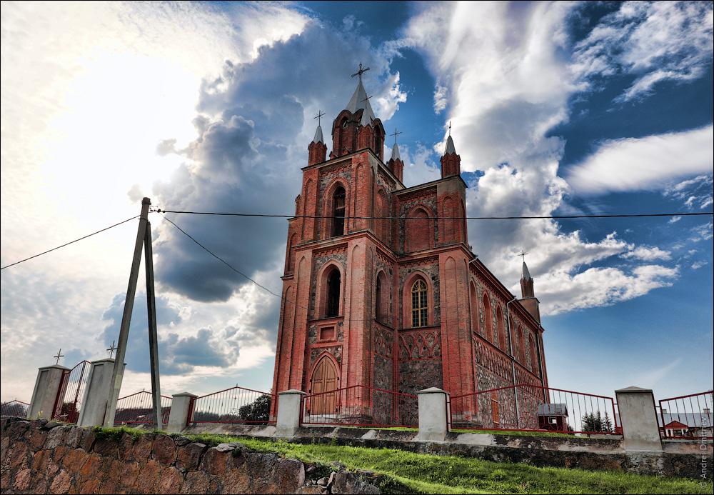 Жупраны, Беларусь, Костел св. Петра и Павла