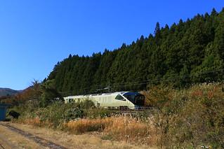 今日のトランスイート四季島 - 快晴の福島、曇天の関東