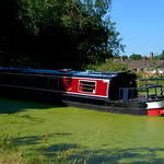 Boat and canal at Preston