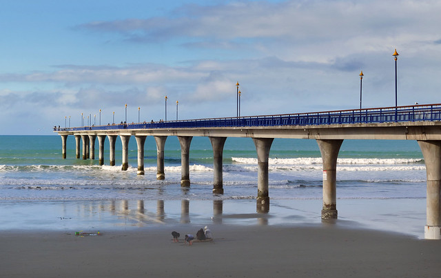 The Pier New Brighton NZ.