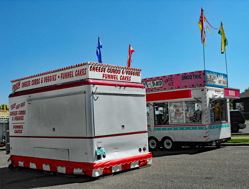 Cheese Curds And Candy Land Trailers.