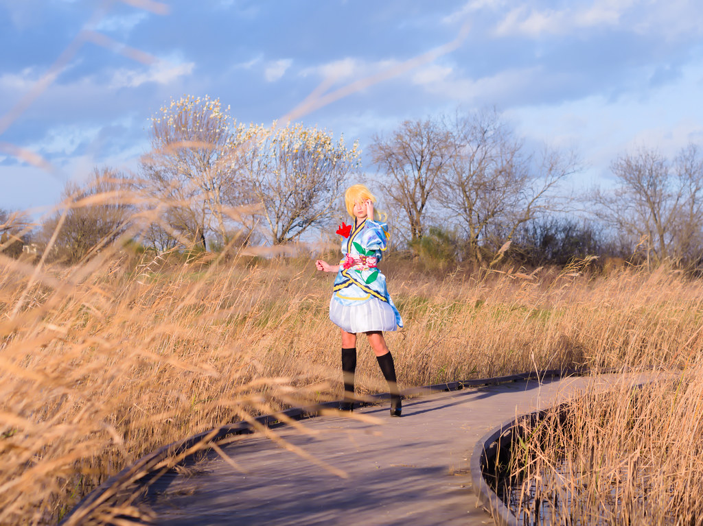 related image - Shooting Love Live - Eli Ayase - Pika Cosplay - Plan d'Eau de La Garde -2018-12-09- P1444360