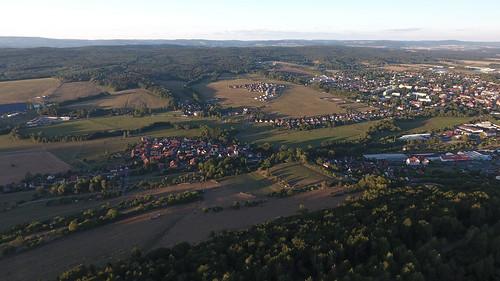 Häselrieth from above