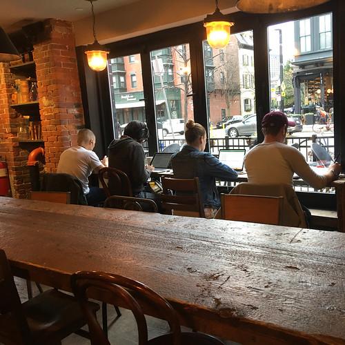Cafe, South End, Boston