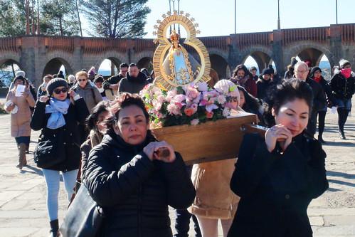 Con la Virgen de Suyapa 2019
