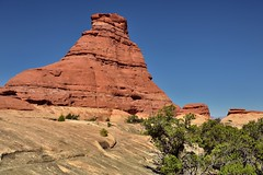 Walking Once More Around the Red Butte (and Sphinx Look Alike, Canyonlands National Park)