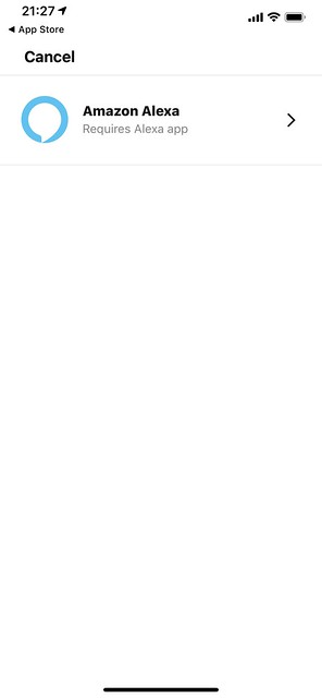 Sonos iOS App - Settings - Voice Services