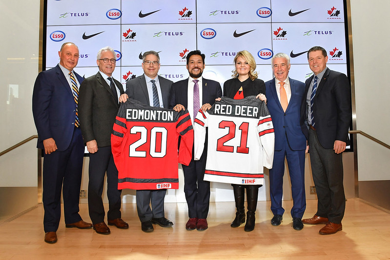 2021 IIHF World Junior Hockey Championships Announcement