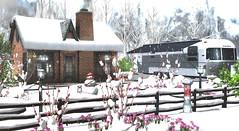 It's a winter wonderland outside