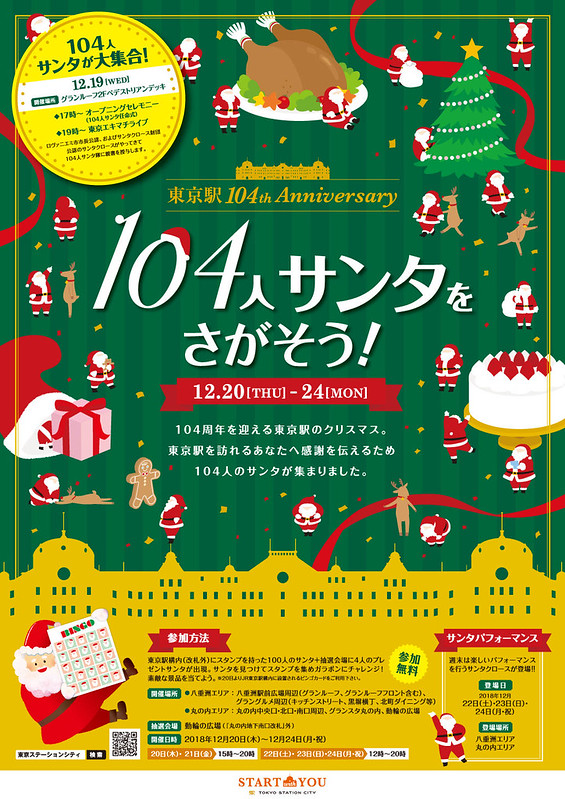 Tokyo Station 104th Anniversary