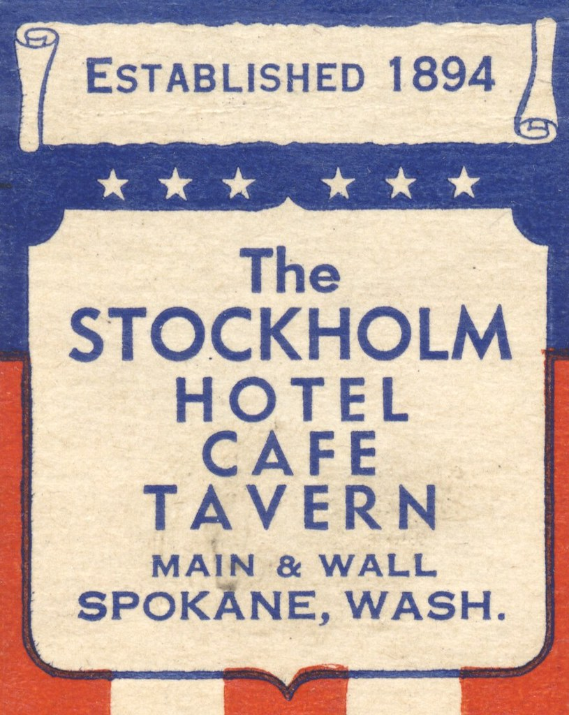 Stockholm Hotel, Cafe & Tavern - Spokane, Washington