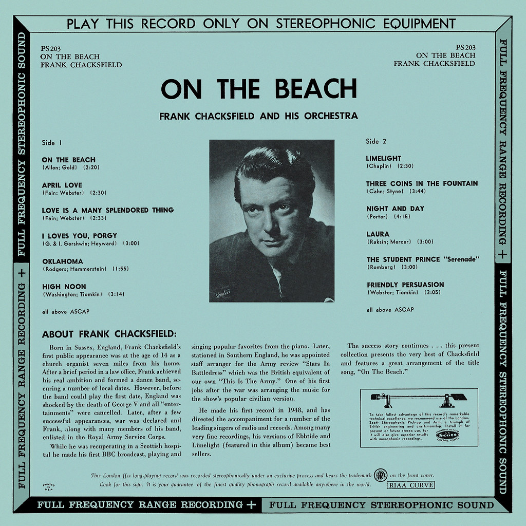 Frank Chacksfield - On the Beach