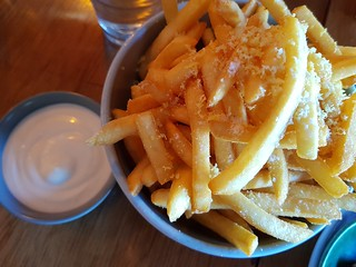 Cripsy Fries with Lemon Seasoning at You Came Again