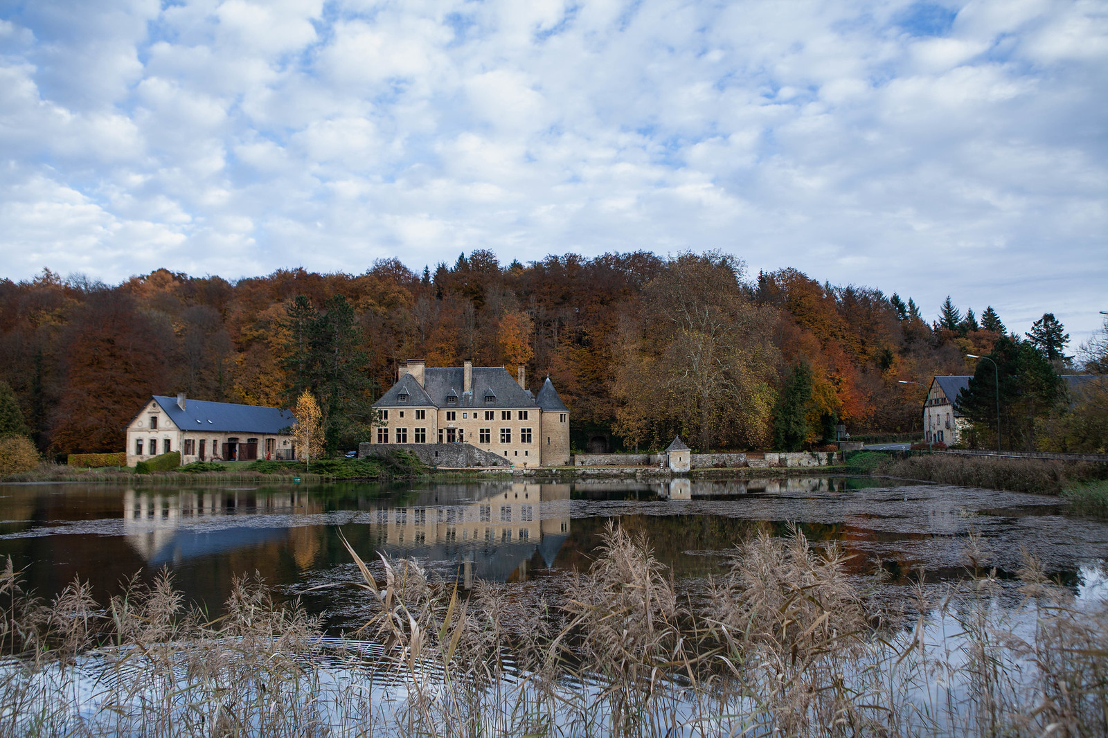 automne et reflets, Orval, Canon EOS 5D MARK II, Canon EF 24-70mm f/2.8L