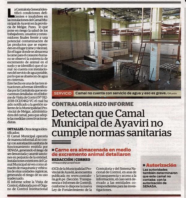 19 - Detectan que Camal Municipal de Ayaviri no cumple normas sanitarias (7)