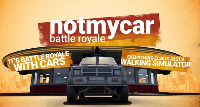 Notmycar - Everything Else Is A Walking Simulator
