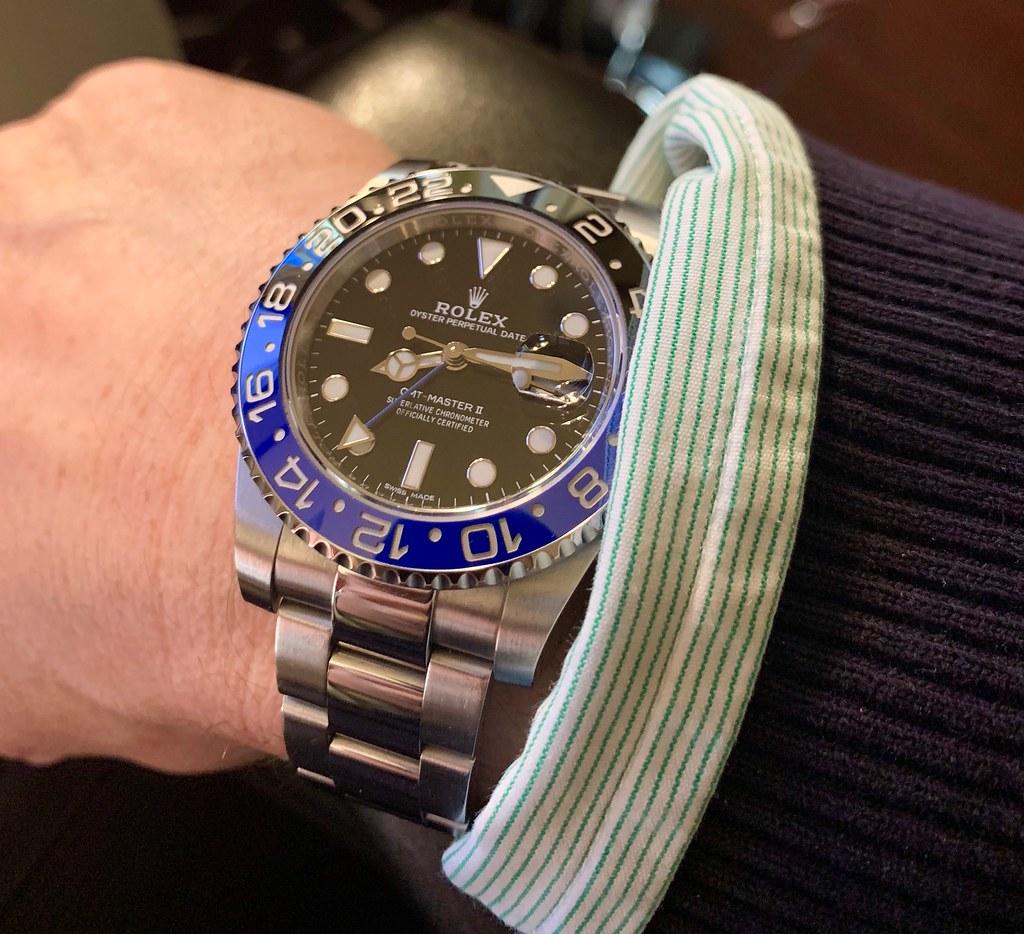 Rolex GMT-Master 116710 BLNR